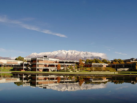 Utah Valley University and Mt. Timpanogos - Orem Utah