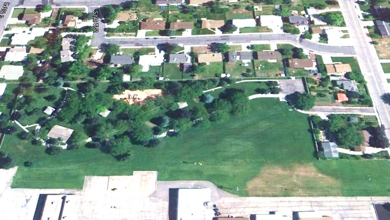 Westmore Park - Google Earth View - Orem Utah