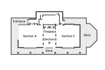 Rehearsal Hall Floor Plan - Sundance Resort Utah