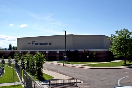 Timpanogos High Gym