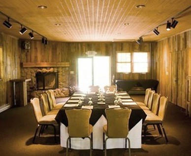 Wasatch Cabin Meeting Room - Sundance Utah