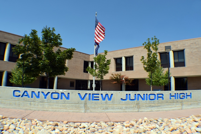 Canyon View Jr. High School, Orem Utah