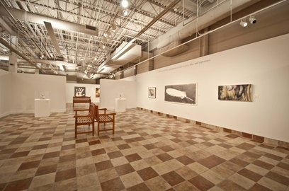 Woodbury Art Museum Exhibition Floor - Orem UT