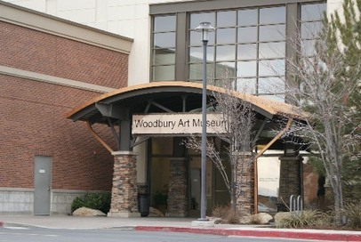 UVU Woodbury Art Museum Entrance - Orem UT