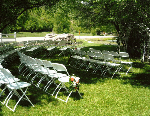 Outdoor Receptions at Conrad Ranch, Provo Canyon Utah